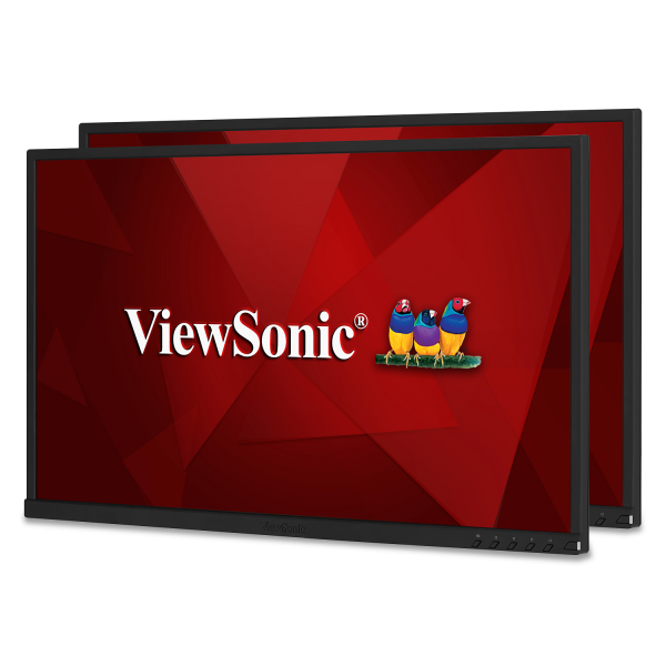 "Viewsonic VG2448_H2 24"" Dual Pack Head-Only 1080p IPS Monitors -"