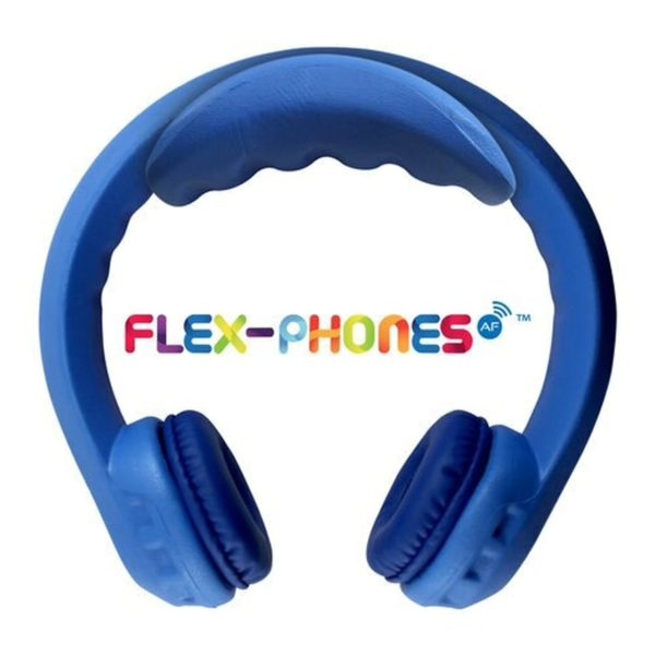 Hamilton FLEXW1 FM Wireless Flex-Phones Dual-Channel, Wireless Headphones - Blue -